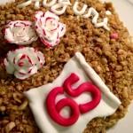Red Velvet gluten free con frosting al formaggio dolce………. e un compleanno che riunisce le generazioni !