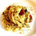 Spaghetti con Gallinella, Verdure e Briciole di pane croccante