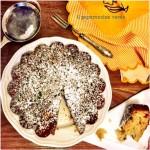 Cake mandorle e frutta esotica essiccata