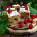Torta Vegana con lamponi – RaspberryVegCake