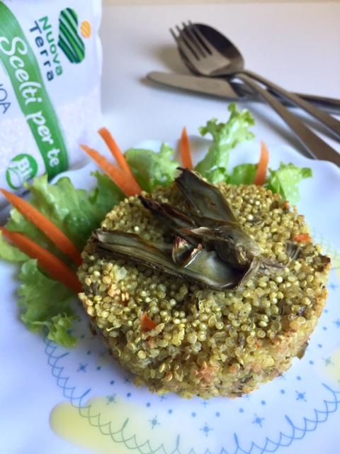 Ricetta Quinoa Con Carciofi.Burgers Di Quinoa E Carciofi Il Peperoncino Verde