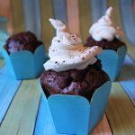 Muffin al doppio cioccolato senza burro