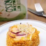 Sformatini di riso con taleggio , zucca e cipolla di Tropea