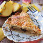 Apple Pie con uvetta e rum
