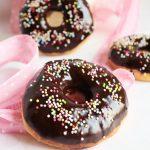 Donuts leggeri al cioccolato