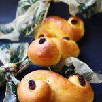 Lussekatter, i panini dolci di Santa Lucia