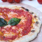 Pizza senza impasto con lievito madre