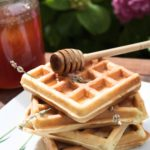Waffle alla lavanda (senza burro!)