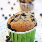 Muffin morbidissimi con mirtilli