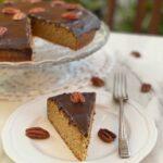 Torta noci pecan e cioccolato