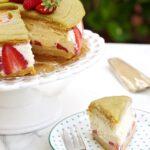 Torta Fraisier (fragole e panna)